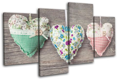 Hearts Shabby Chic Love - 13-0473(00B)-MP04-LO